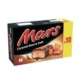 Mars Glace Barre glacée Mars Caramel beurre salé x10 - 373g